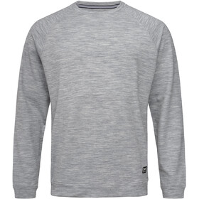 super.natural Essential Raglan Crew Sweatshirt Men, ash melange